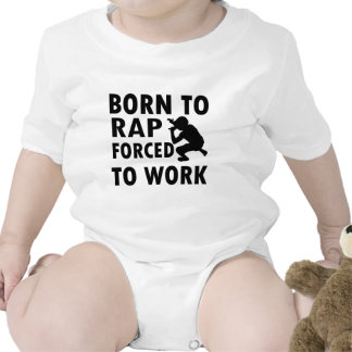 Cool Rap Designs Baby Bodysuits