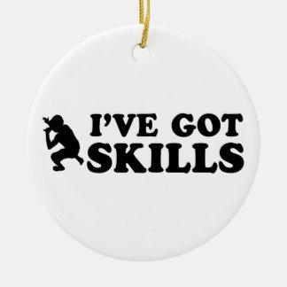 cool rap skills designs ornaments