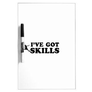 Cool raquetball skills designs Dry-Erase whiteboards