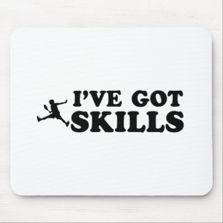 Cool raquetball skills designs mouse pad