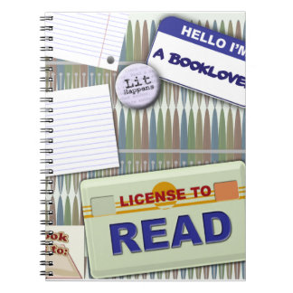 Cool Reader's Collage Note Book