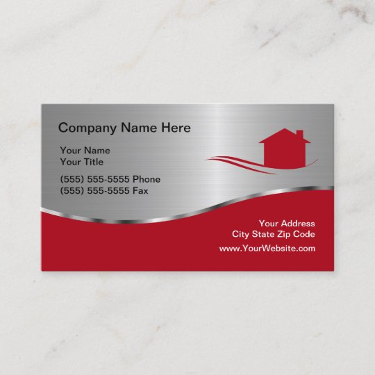 cool real estate business card - Real Estate Business Card