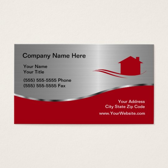 Cool Real Estate Business Card | Zazzle.com