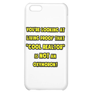 Cool Realtor Is NOT an Oxymoron iPhone 5C Cases