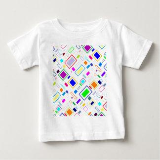 cool rectangular design baby T-Shirt