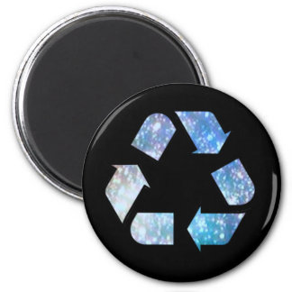 Cool Recycling Symbol Magnet