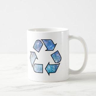 Cool Recycling Symbol Coffee Mugs