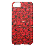 Cool red flowers mate iPhone case iPhone 5C Cases