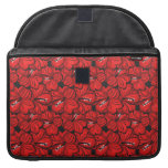 Cool  red flowers sleeve sleeve for MacBook pro
