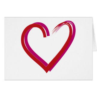 Cool Red Hearts Cards