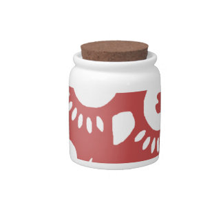 Cool Red Owl Candy Jars