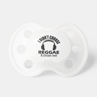 Cool reggae designs pacifier
