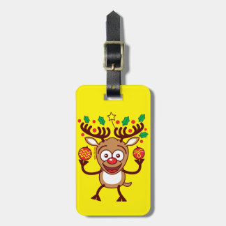 Cool Reindeer Decorating for Christmas Tags For Luggage