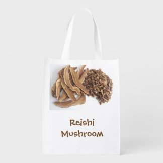 Cool Reishi Mushroom Shopping Bag Market Tote