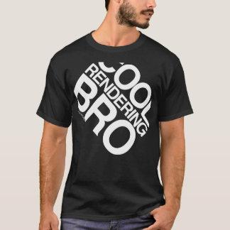 Cool Rendering Bro Men's T-Shirt