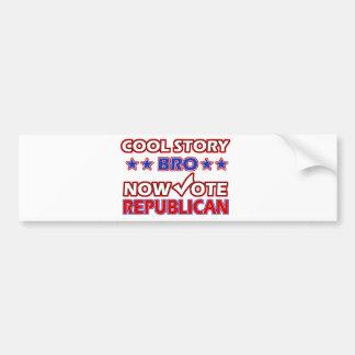 Cool Republican Party designs Car Bumper Sticker
