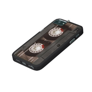 Cool Retro 80's Vintage Cassette Tape Cover For iPhone 5