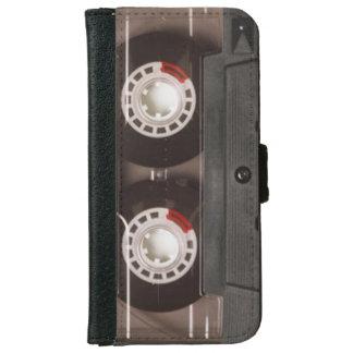 Cool Retro 80's Vintage Tape Cassette iPhone 6/6s Wallet Case