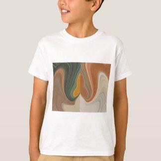 Cool Retro Abstract Graphic colorful Matata strand T-Shirt