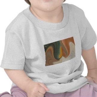 Cool Retro Abstract Graphic colorful Matata strand Tee Shirts