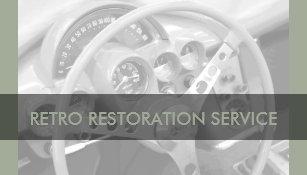 Retro auto mechanic business cards zazzle cool retro automotive business cards reheart Image collections