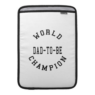 Cool Retro Dads to Be World Champion Dad to Be MacBook Sleeve