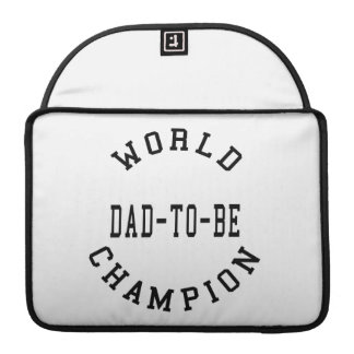 Cool Retro Dads to Be World Champion Dad to Be Sleeves For MacBooks