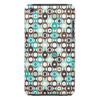 Cool retro disco pattern illustration iPod touch case