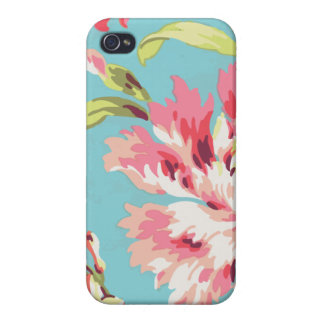 Cool Retro Floral iPhone 4/4S Cover