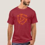 Cool Retro Grunge 45 Spacer Dj T-shirt at Zazzle