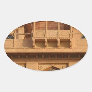 Cool Retro Hakuna Matata Gifts  Ancient Palace.jpg Oval Sticker