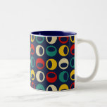 Cool Retro Modern Spheres Coffee Mug