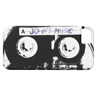 Cool Retro Music Cassette Tape Cover For iPhone 5/5S