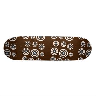 Cool retro old school skateboard