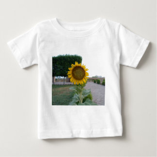 Cool Retro Trendy Hakuna Matata Gifts Sunflower de Baby T-Shirt