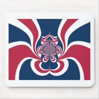 Cool Retro Vintage Hakuna Matata Gifts trendy flag Mouse Pad