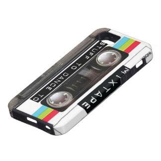 Cool Retro Vintage Mixtape iPhone SE/5/5s Case