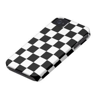 Cool Retro White & Black Designer iPhone Case iPhone 4 Case-Mate Cases