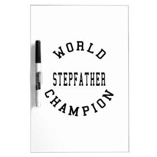 Cool Retro World Champion Stepfather Dry-Erase Boards