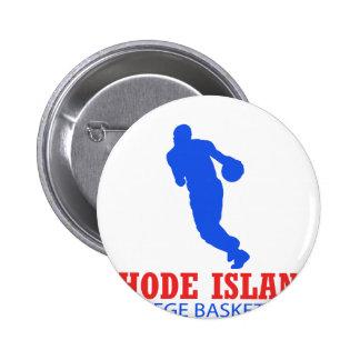 cool Rhode Island basketball DESIGNS Button