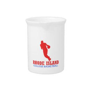 cool Rhode Island basketball DESIGNS Drink Pitchers