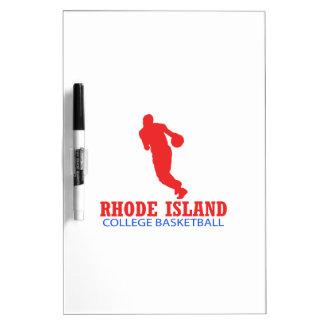 cool Rhode Island basketball DESIGNS Dry-Erase Board