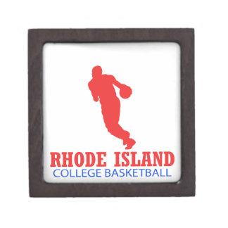 cool Rhode Island basketball DESIGNS Gift Box