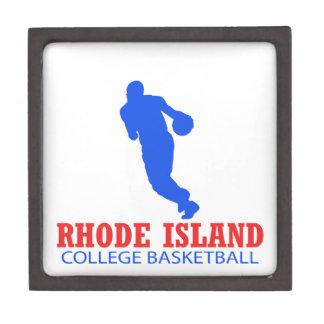 cool Rhode Island basketball DESIGNS Keepsake Box
