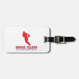 cool Rhode Island basketball DESIGNS Luggage Tag