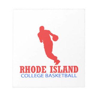 cool Rhode Island basketball DESIGNS Notepad