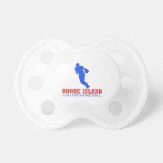 cool Rhode Island basketball DESIGNS Pacifier