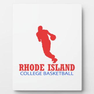 cool Rhode Island basketball DESIGNS Plaque
