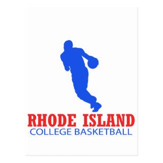cool Rhode Island basketball DESIGNS Postcard