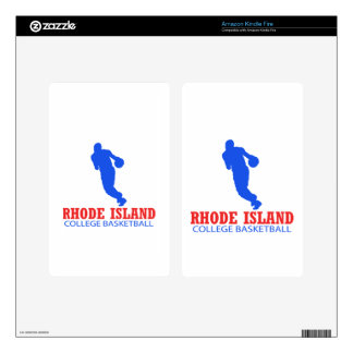 cool Rhode Island basketball DESIGNS Skins For Kindle Fire